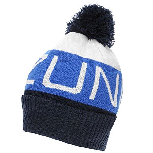 Mizuno Herren Bobble Golf Mütze Micro Fleece Futter Weiß/blau Herren (Golf-mütze Mizuno)