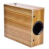 Cocoarm Reise Box Drum Tragbare Kompakte Spielraum Cajon Holz Handtrommel Hand Schlagzeug Holztrommel Schlaginstrument mit Tragetasche 23 * 10 * 29 cm