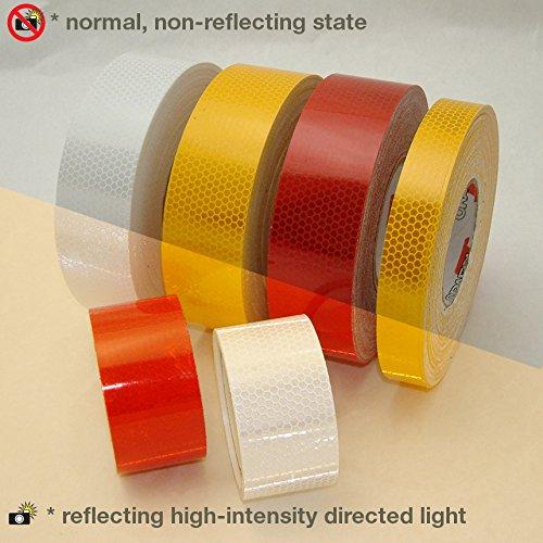ORALITE Reflexite 5900Hip prismatic-grade nastro riflettente, Bianco