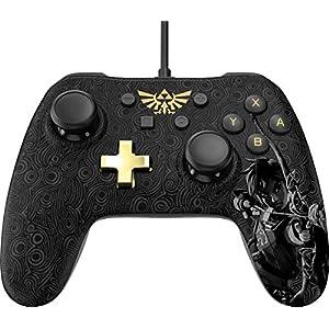 Manette filaire Core Plus Zelda – Noir et doré