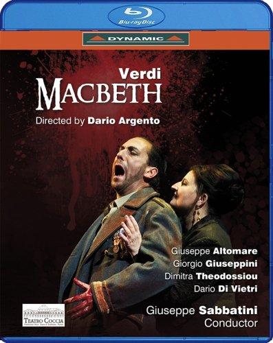 Dario Argento: Verdi: Macbeth (Novara 2013) [Blu-Ray]