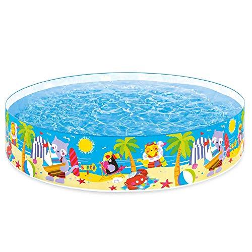 Piscina Inflable, Piscina para Niños Juego Familiar Acuario De La Piscina Aumento Engrosamiento Inflable Gratis (Size : 244 * 46 cm)