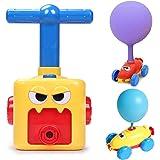 AM ANNA Balloon Powered Car Inertial Power Car Creative Inflatable Balloon Pump Air Powred Car Scientific Experiment Toy --2