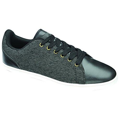 Lonsdale Redwood Tweed Uomo Sneaker Black/Off White