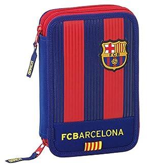 FC Barcelona–Estuche escolar con 34accesorios Win FCB Barcelona