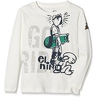 El Niño 3055 Camiseta Manga Larga, Niños, Blanco (Natural), 16