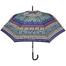 Paraguas Mujer Maison Perletti - élégante con Apertura Automática - Acabados Chic con Detalles Plateados y