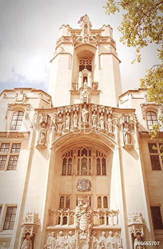 druck-shop24 Wunschmotiv: United Kingdom Supreme Court. Filtered Retro Tone. #86665707 - Bild als Foto-Poster - 3:2-60 x 40 cm / 40 x 60 cm