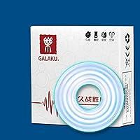 XFF Productos Eróticos Adultos Hombres y Mujeres de Bloqueo Común Fine Men's Series Flirt Pene Anillo Circulatorio Yin Yu Xian Xian Herramientas,Collar de silic,1