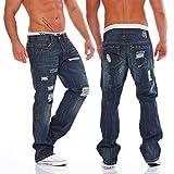 Antique Rivet Herren Jeans Hose Jeanshose billy L 32 (L32/W36)
