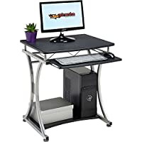 Genuine Piranha Minnow Compact Computer Desk w Keyboard Shelf Home Office PC11g