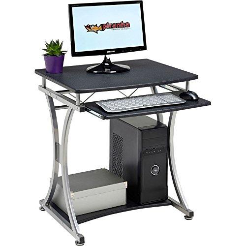 echtem Piranha Minnow Kompakter Computertisch W Tastatur Regal Home Office pc11g ('w-arbeitsplatte)
