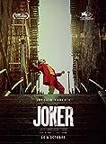 Affiche Cinéma Originale Grand Format - Joker (format 120 x 160 cm pliée) Année 2019