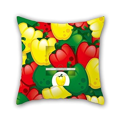 Pillo 50,8x 50,8cm/50, von 50cm Blume Kissen, doppelte Seiten ist Passform für Esszimmer, spielen Raum, Diwan, Club, Innenbereich, Stuhl