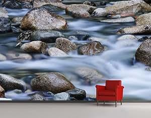 mantiburi Vlies FotoTapete Fluss in Kanada Foto Tapeten 388x259cm