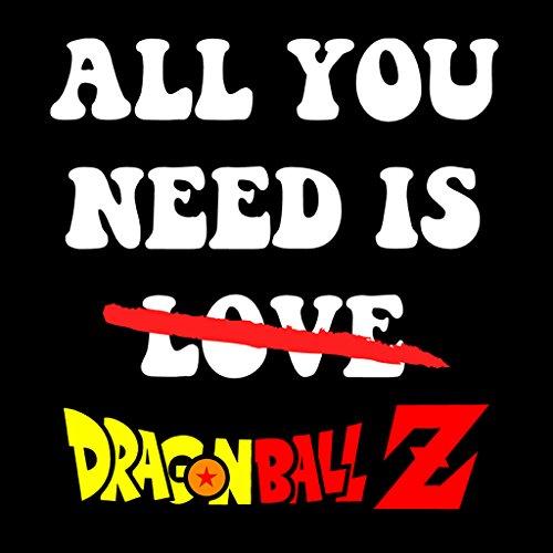 All You Need Is Dragon Ball Z Women's Sweatshirt Black