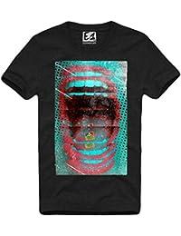 E1SYNDICATE T-SHIRT LSD BLOTTER ART ALBERT HOFMANN LSA 25 MESCALINE XTC 633A S-XL