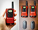 Motorola TLKR T40 PMR Funkgerät mit LC-Display rot Test