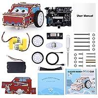 ELEGOO Robotic Car Kit, Robotic STEM Educational Toy Kit for Kids Teenages Adults