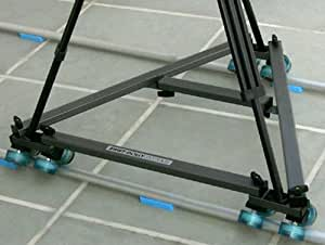 Proaim Swift Dolly System with 12-feet Portable Straight Track, Tripod and a Head