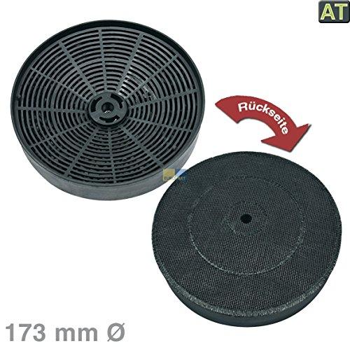 Aktivkohlefilter Kohlefilter Turboair Type A rund Ø 173mm Dunstabzugshaube Alternativ Electrolux AEG 9029793792 E3CFOA Zanussi Rex Alno Zanker Brand Turbo
