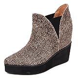 Jeffrey Campbell D2214 Tronchetto Donna Priya beige/Nero Shoe Boot Woman [39]
