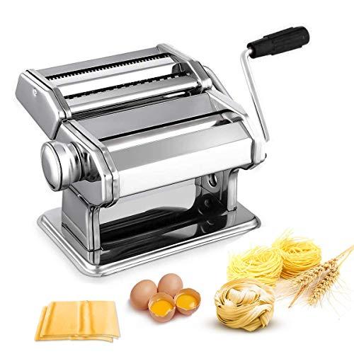 Nudelmaschine Pasta Maker Edelstahl Frische Manuell Pasta