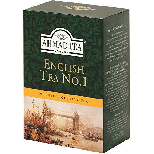 Ahmad Schwarzer Tee English Tea No.1 lose 250g Schwarztee Bergamotte London pure (Ahmad Tea English 1)