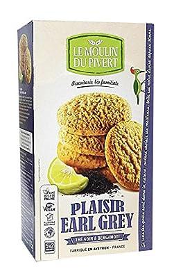 Moulin Pivert Plaisir au Thé Noir/à la Bergamote 175 g