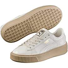 Puma Basket Platform Patent, Zapatillas Para Mujer