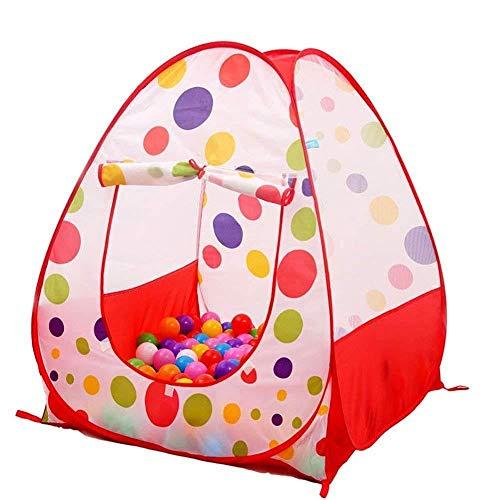 Tech Traders Mppool Pop Up Maison pour Enfants de bébé Jeux pour Enfants à Pois Intérieur ou extérieur Tente de Conte