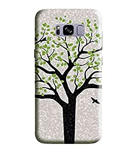 HiFi Designer Phone Back Case Cover Samsung S8 :: SamsungS8 :: G950F G950FD G950U G950A G950P G950T G950V G950R4 G950W G950S/G950K/G950L ( Tree Look Oil Paint Look )