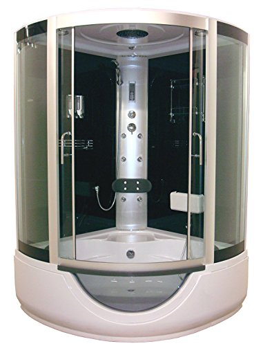 Aqua Plus SACHCABFAROX Faro 136/136 Cabine de douche hydro Gris