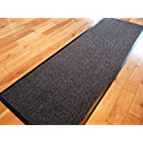 Carpet Runner 60cm x 160cm Dirt Stopper Grey/Black NOW ONLY £17.99 by Dirt Trapper