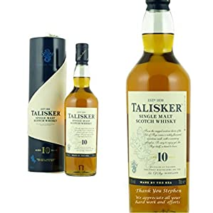 Personalised Talisker 10 Year Old 70cl by Talisker