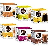 Nescafé Dolce Gusto Set Basic: Lungo, Cappuccino, Latte Macchiato, Espresso, Chococino