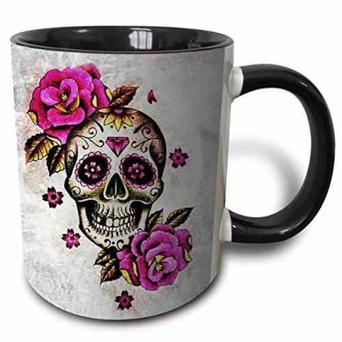 Maßgeschneiderte Tassen, Kaffee Becher, Tassen, Sugar Skulls-313ml Keramik Tassen,-Die beste Spaß und inspirierende Geschenke Color3
