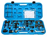 Freetec–Strumento di blocco strumento cinghia dentata set di attrezzi regolazione motore strumento di regolazione del motore per Volkswagen Golf Polo Audi A3A4A6controllo cinghia im cassetta degli attrezzi