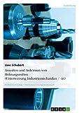 Anreißen und Ankörnen von Bohrungsmitten (Unterweisung Industriemechaniker / -in)
