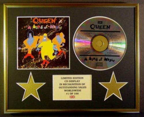 QUEEN/CD-Darstellung/Limitierte Edition/COA/A KIND OF MAGIC