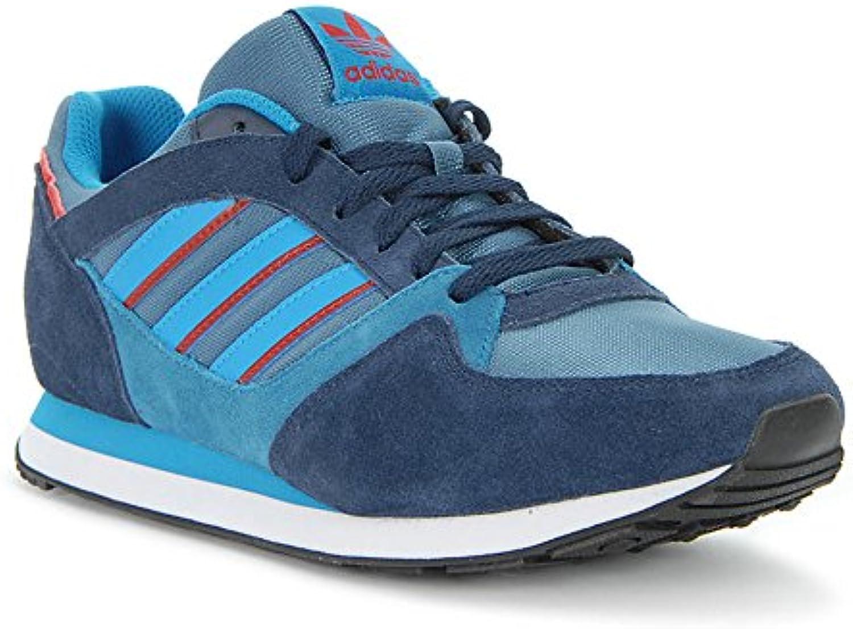 Zapatilla Sportwear Adidas ZX 100 Azul  Zapatos de moda en línea Obtenga el mejor descuento de venta caliente-Descuento más grande