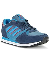 Adidas - ZX 100 - M25730 - Color: Azul-Azul marino - Size: 43.3