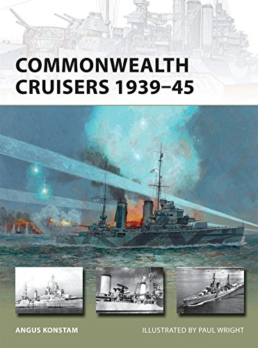 Commonwealth Cruisers 1939-45 (New Vanguard)