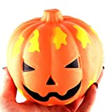 #6: Fansport Squeeze Toy Slow Rising Squishy Cute Pumpkin Stress Relief Toy One Size Orange