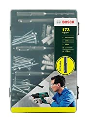 Bosch 173-teiliges Sds-plus-befestigungs-set, Beton, 2607017163