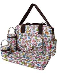 Ecosusi Bolso Cambiador grande bolso cambiador bebé bolsa pañal del bebé  bolsas Cochecito ... 7c62a78277d5
