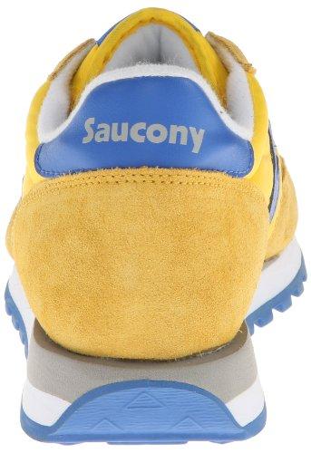 Saucony Jazz Original 2044-381, Scarpe da Ginnastica Uomo Yellow/Blue