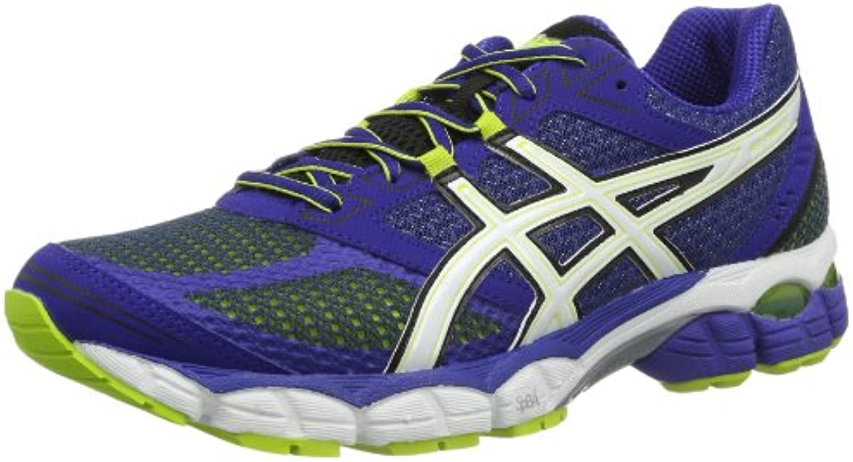 Asics GEL Pulse 5 - Zapatillas de running para hombre, color azul/blanco/verde