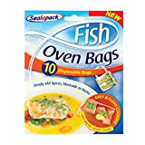 Sealapack Fish Oven Bags 10Pk Bake Easy Clean Cooking Locks in Flavour