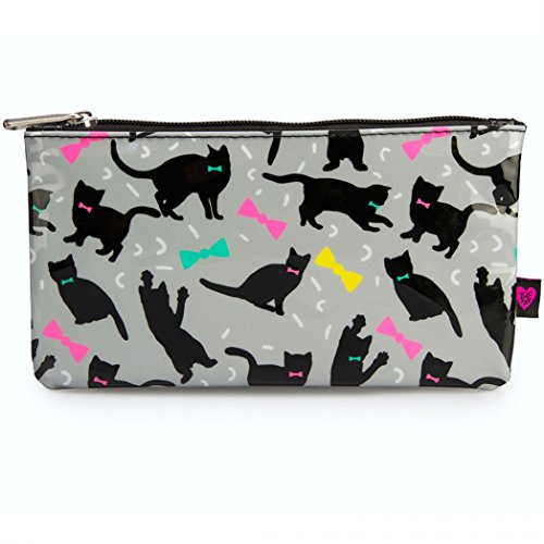 loungefly-cats-bow-ties-pencil-case